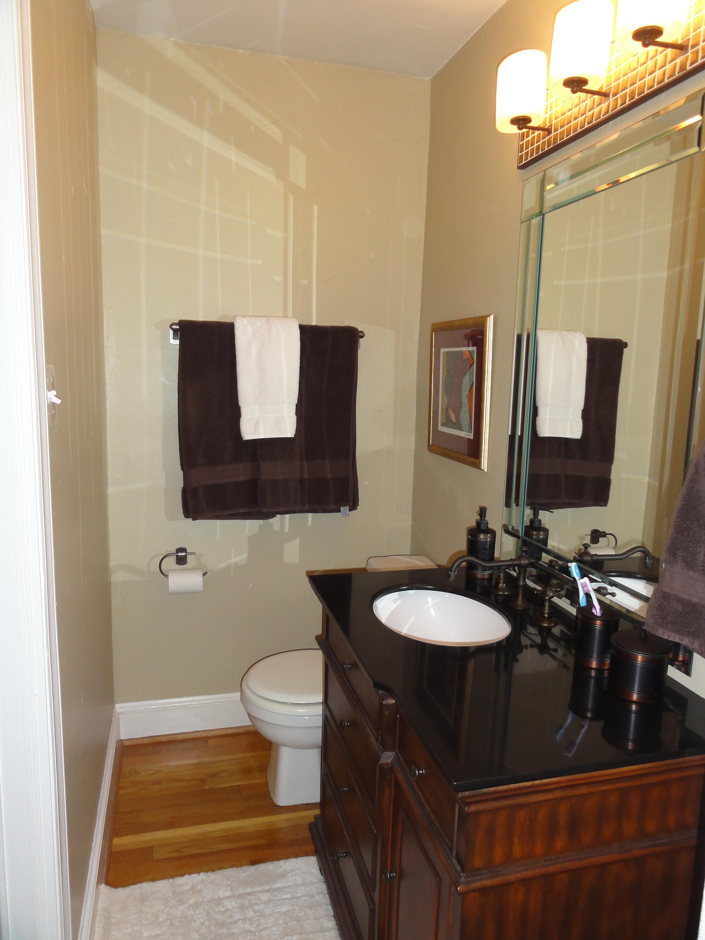 Master bathroom renovation step 6 final reveal little for Master bathroom designs 2012